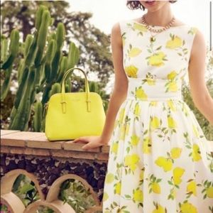 Kate Spade Lyric Lemon Dress